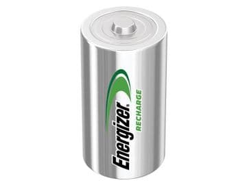 Recharge Power Plus D Cell Batteries RD2500 mAh (Pack 2)